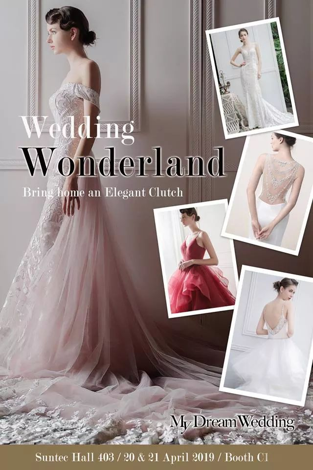 Immerse yourself in the magic of My Dream Wedding at Hitcheed's Wedding Wonderland this weekend~