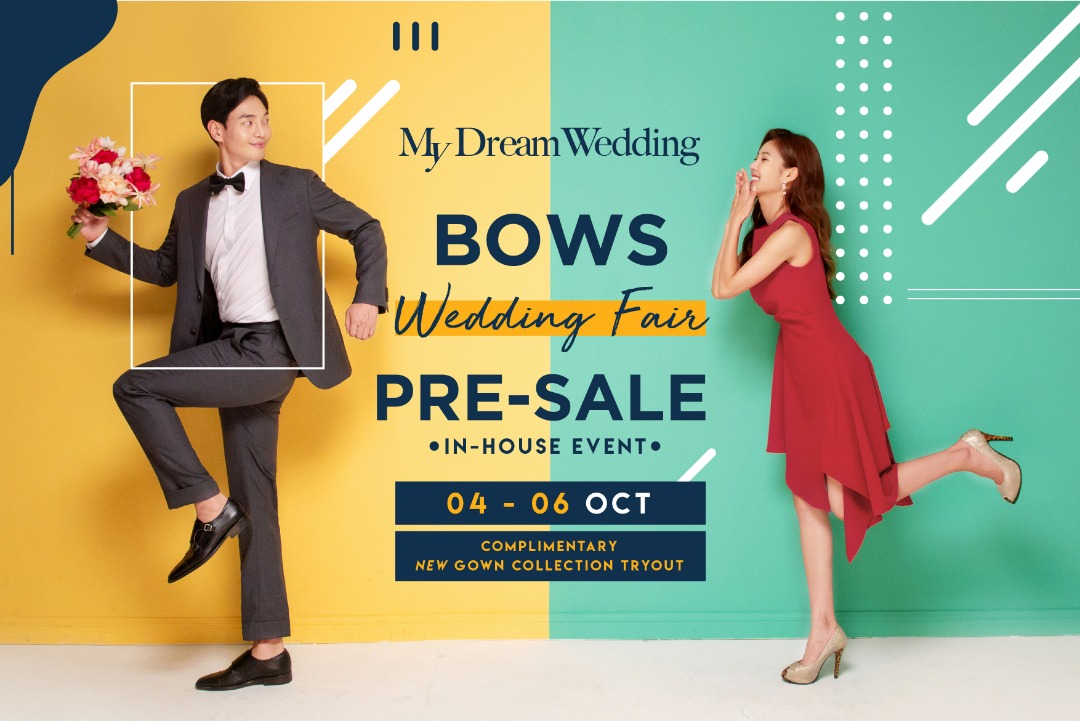 BOWS Wedding Fair Pre-Sale October 2019