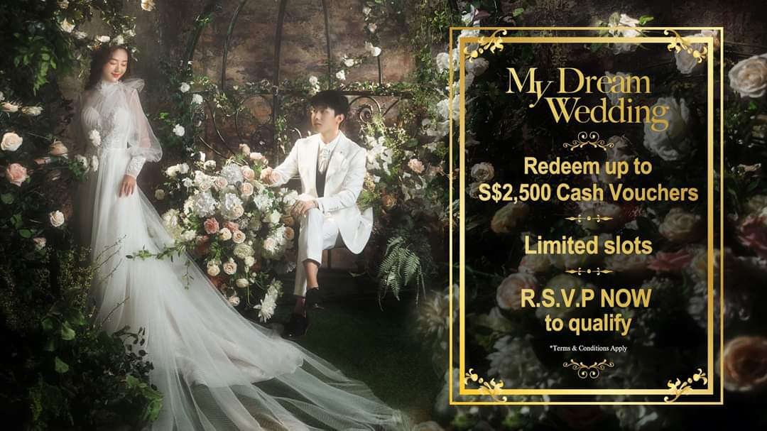 SingaporeBrides Online Wedding Fair from 4 to 12 July 2020