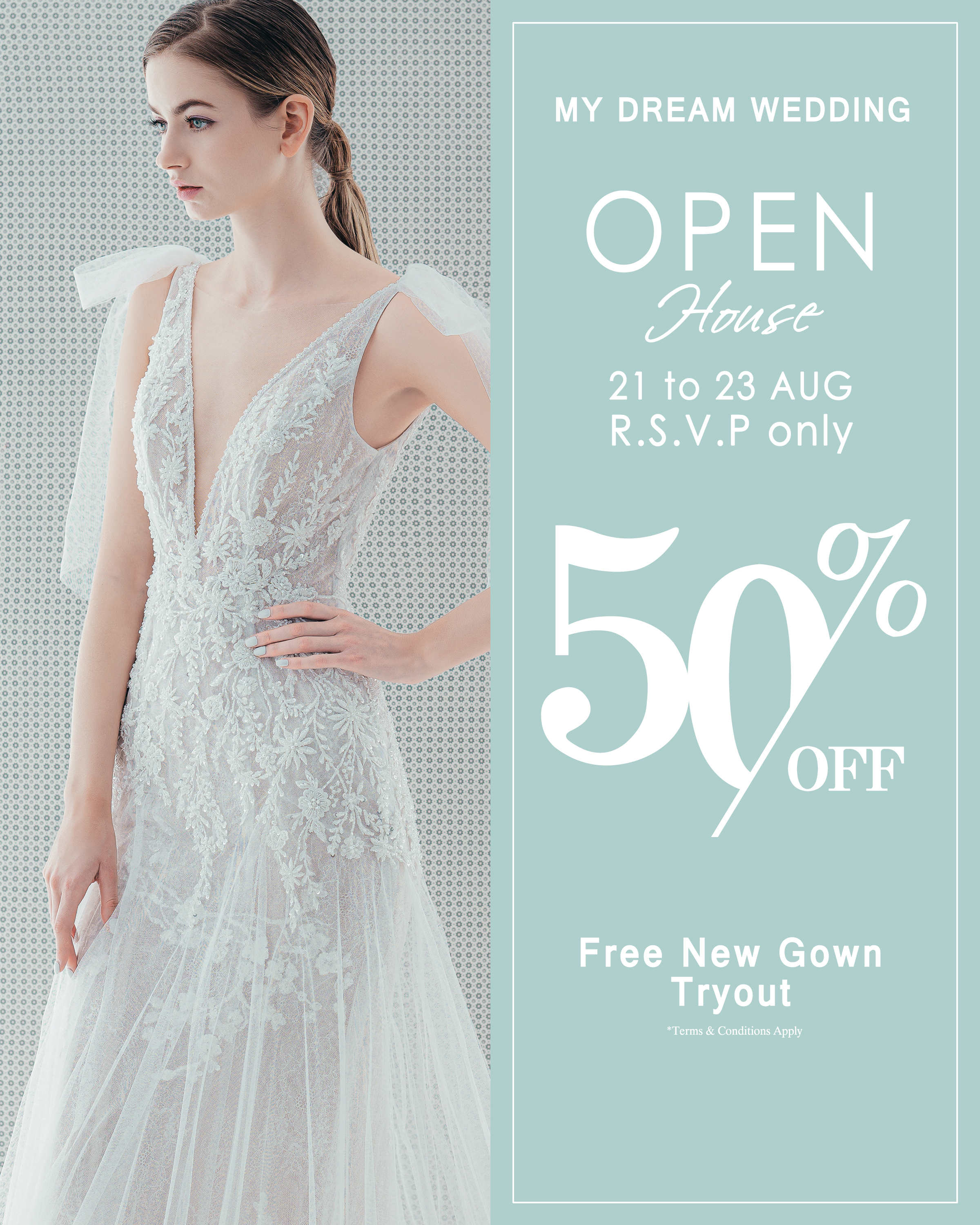 Open House with free new gown tryout