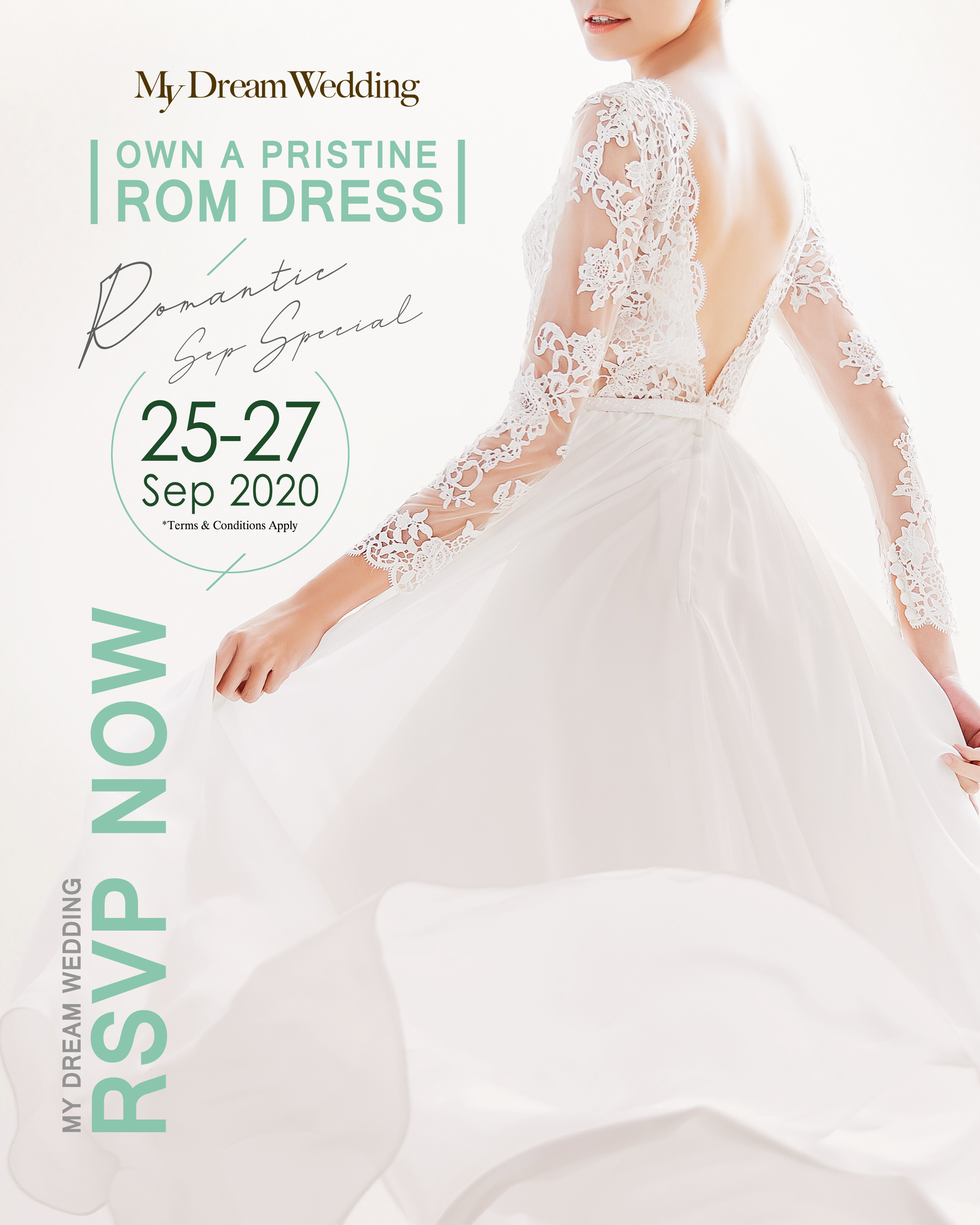 Beautiful in White – Complimentary ROM Dress